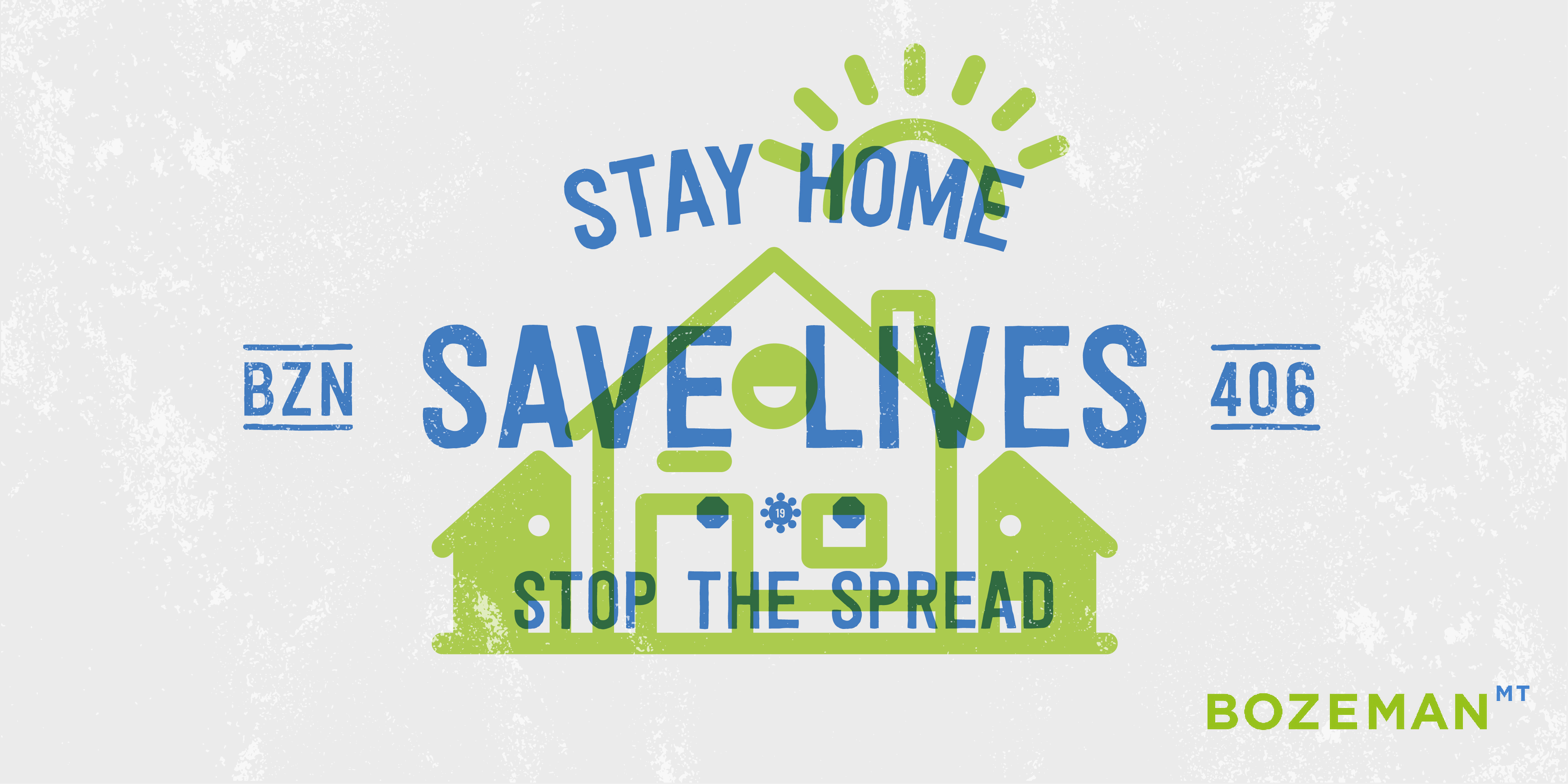 Stay at home, save lives.