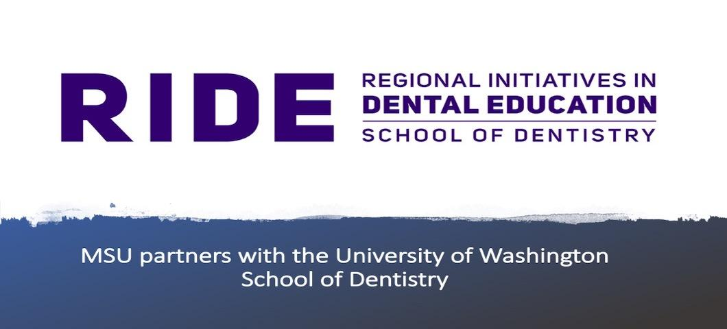 RIDE: UW Regional Initiative in Dental Education