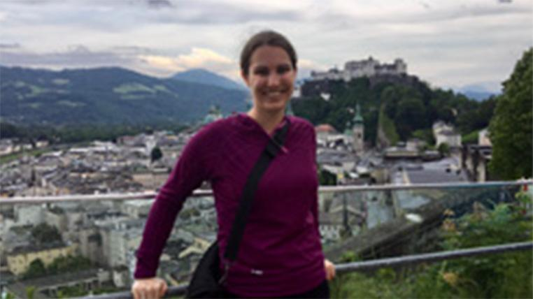 Linnea Zavala attends conference in Germany, studies abroad at University of Salzburg