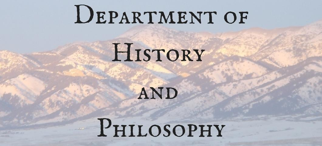 Department of History and Philosophy