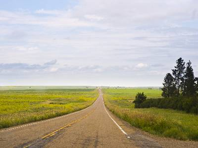 Road to Bozeman