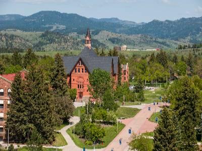 Above Montana Hall
