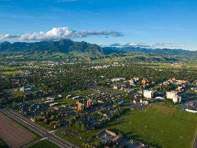 Aerial View of Bozeman