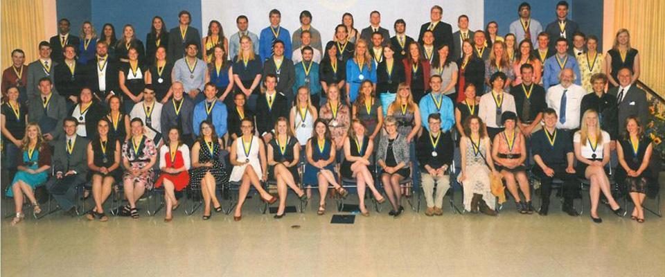 Spring 2014 Honors Graduates.