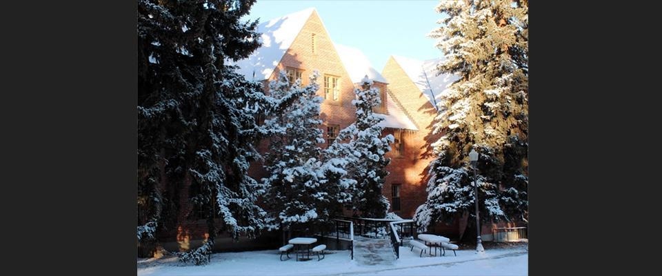 Quad in Winter. Photo courtesy of Logan Warberg.