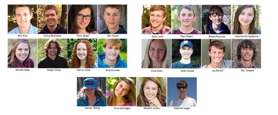 2015 Presidential Scholars.