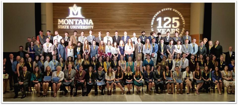 Spring 2018 Honors Graduates.