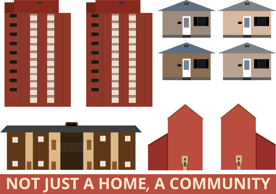 Not just a home a community.