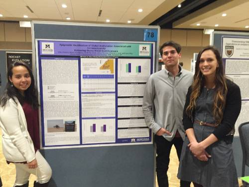 Students at UG Research Symposium 2016