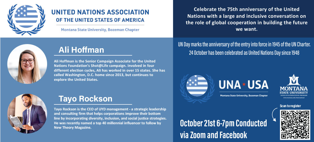 Register now for the United Nations Day event!