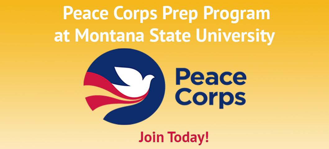 A Peace Corps Prep Program is now available at Montana State University.