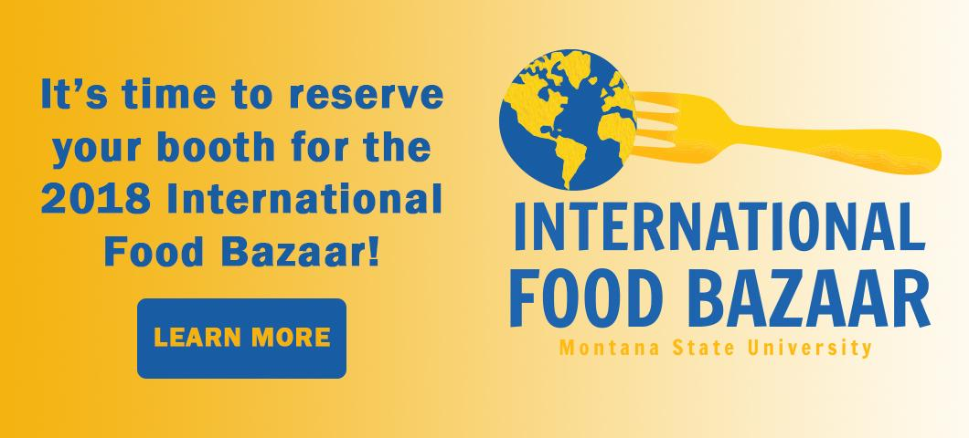 Sign up for the 2018 International Food Bazaar