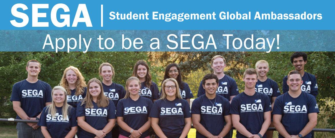 Apply to be a SEGA today!