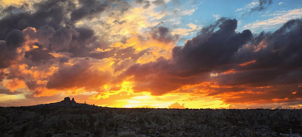 Photo taken by Ryan Chauner while studying abroad in Turkey