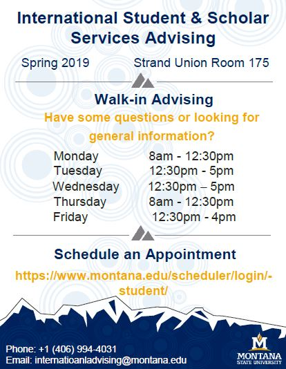 Summer Walk-In Advising Times