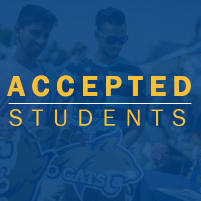 Accepted Students Tab
