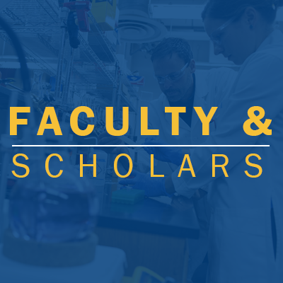 Faculty and Scholars Tab