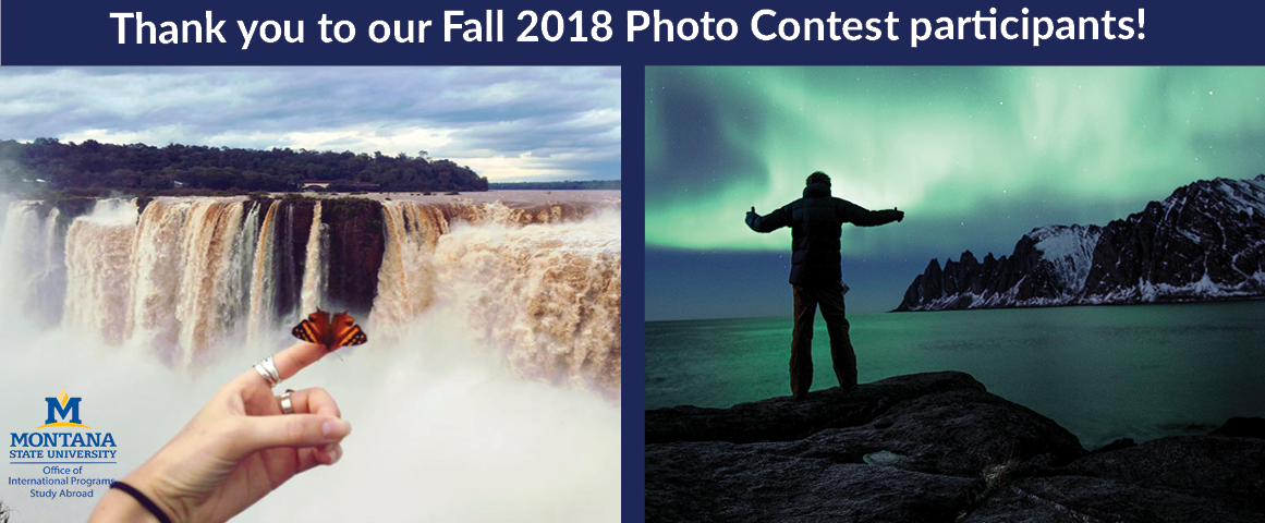 Thank you to our Fall 2018 Photo Contest participants!