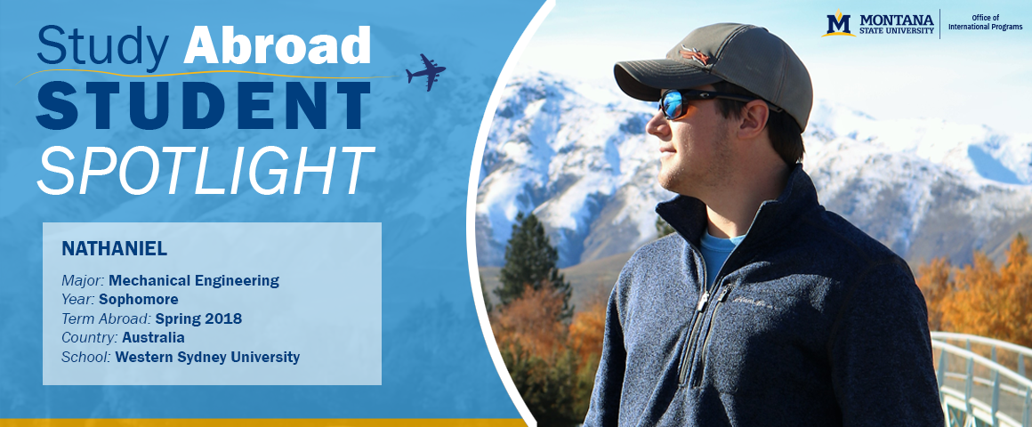 Check out our Study Abroad MSU Student Spotlight: Nathaniel's story about his time in Australia