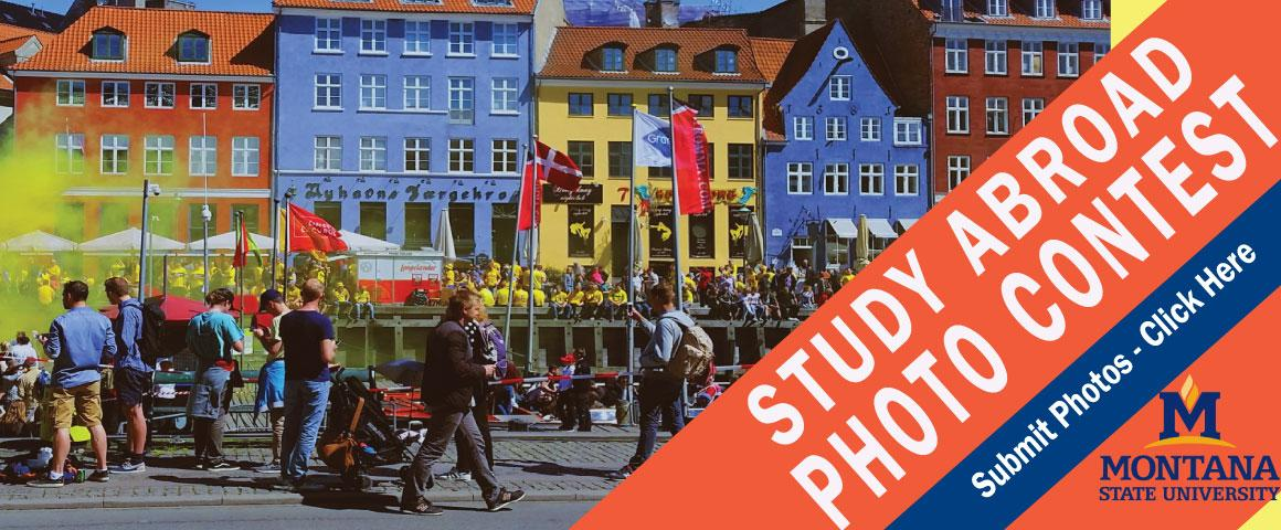 Submit a picture for the annual study abroad photo contest. Photo entries for the 2018 Photo Contest are being accepted throughout the 2017/2018 academic year. The 2018 Photo Contest exhibit will take place in September 2018.