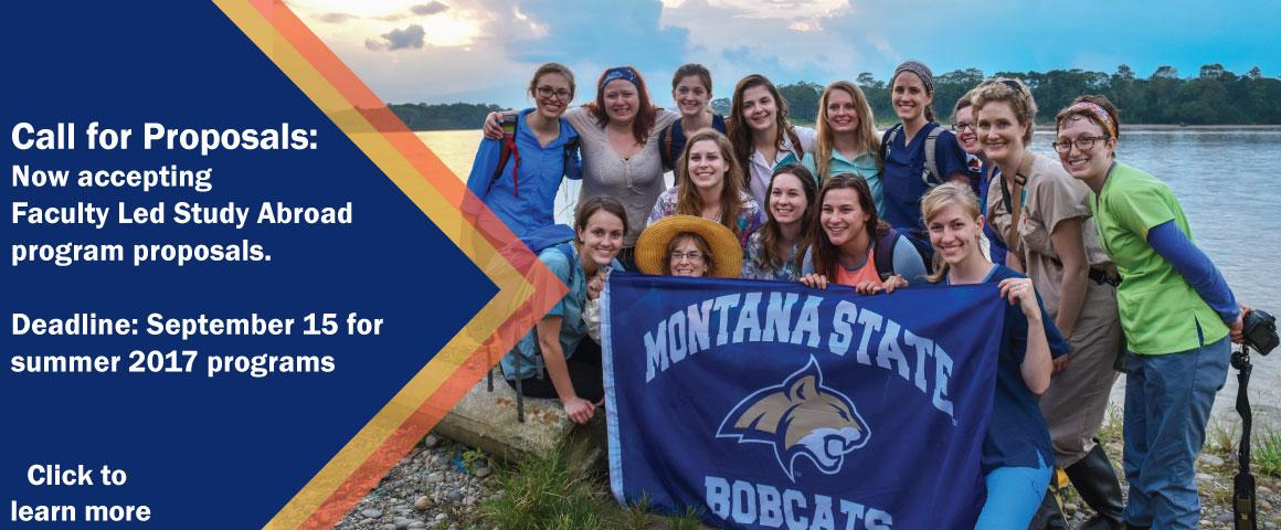 Faculty, submit your summer 2017 faculty led study abroad program proposal by September 15, 2016.