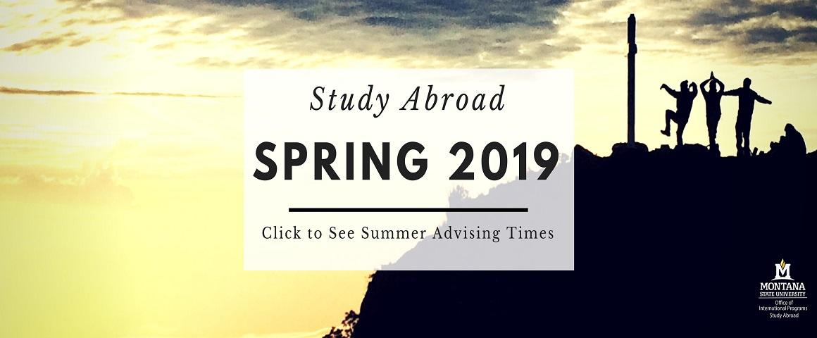 Click to view summer advising times