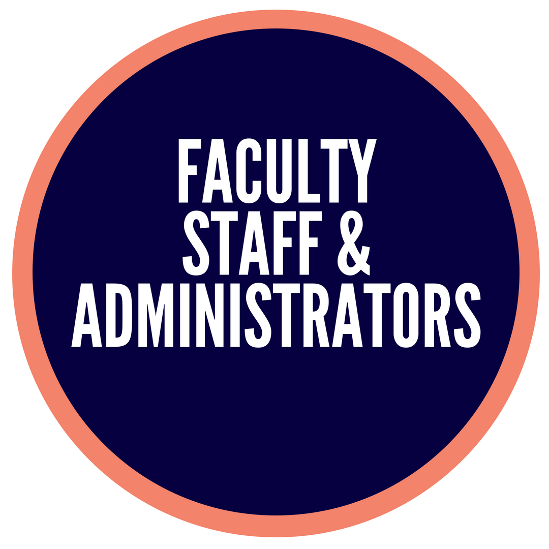 faculty staff and administrators