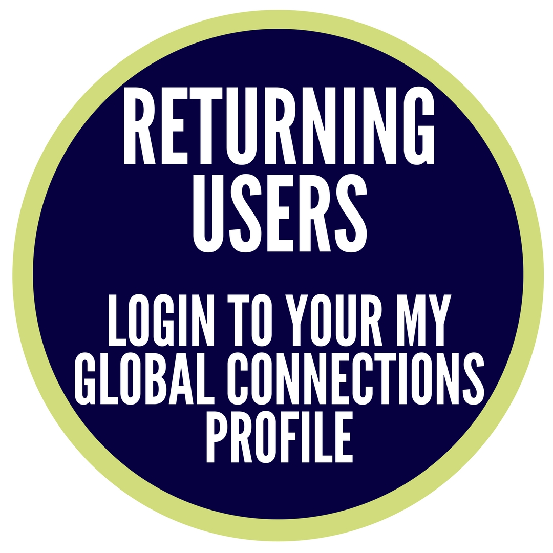 Returning User, Login to your My GLobal Connection Profile