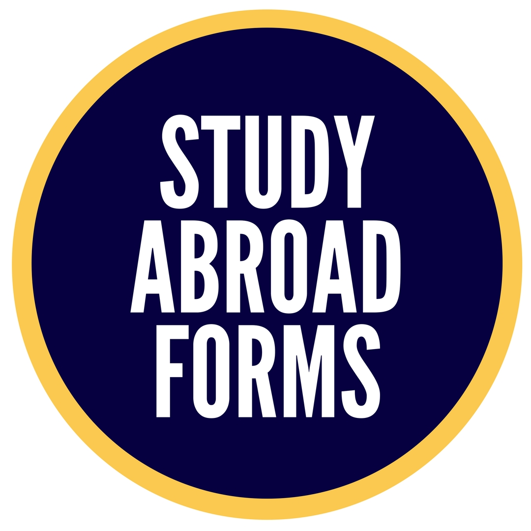 study abroad forms