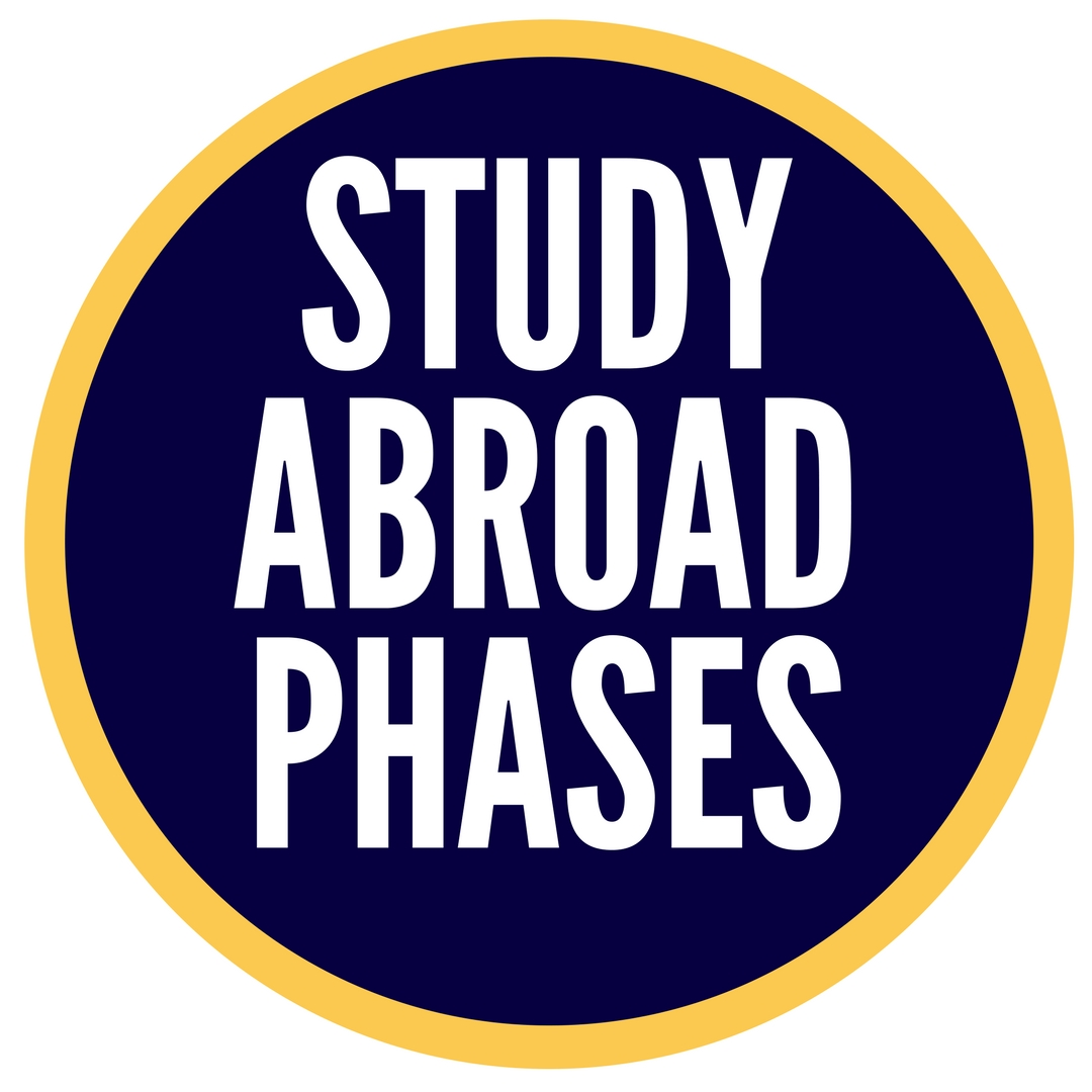 your study abroad journey