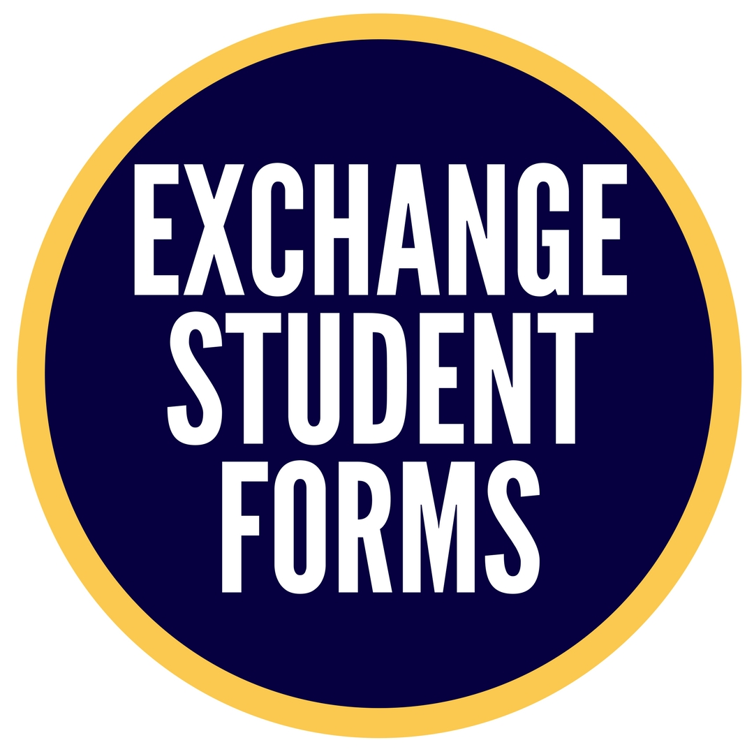 EXCHANGE STUDENT FORMS