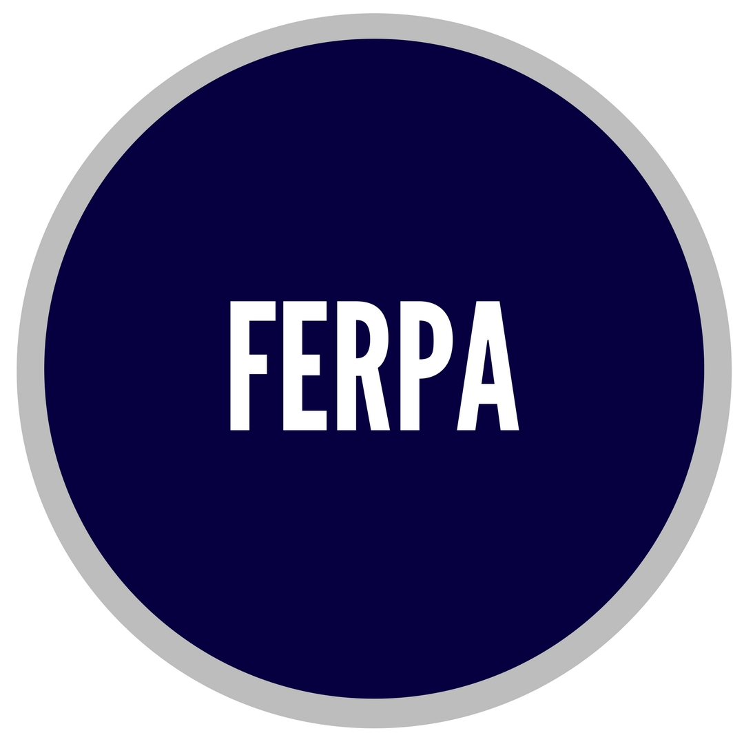 FERPA Fedral Guidelines for communication with students family and friends