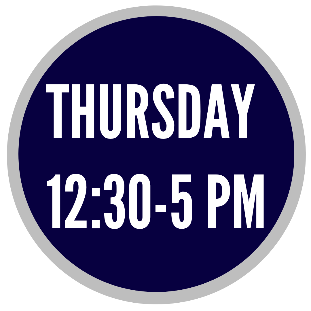 Advising Fall 2018 Thurs hours