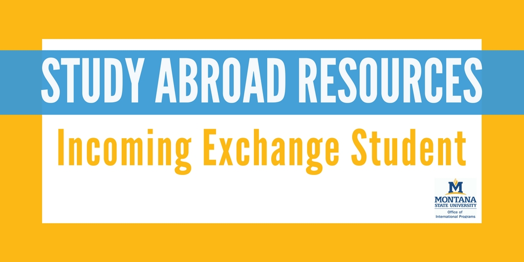 Incoming Exchange Student Resource Page