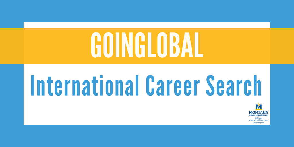 GoinGlobal Career Search