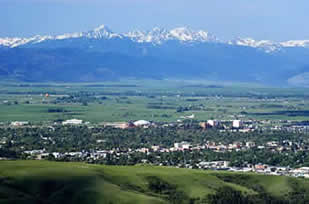 Montana State University and Bozeman