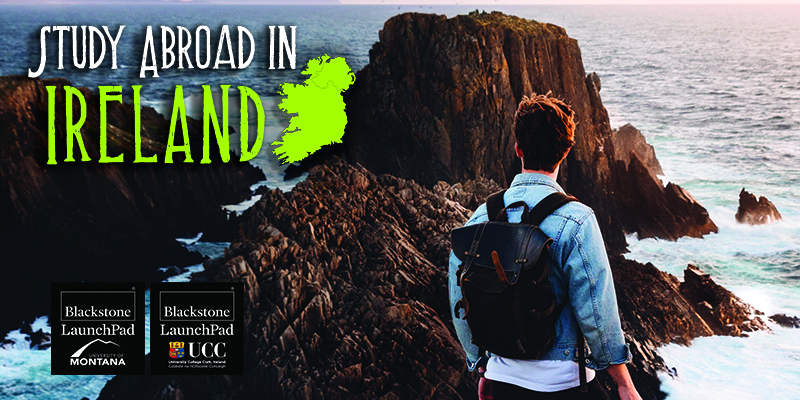 Study Abroad in Ireland graphic