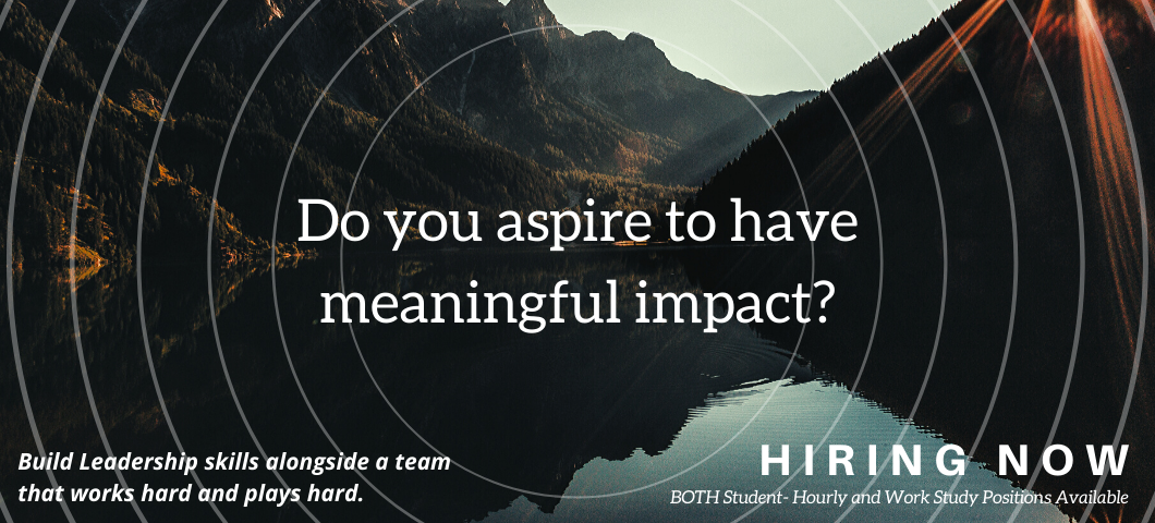 Do you aspire to have meaningful impact? Build leadership skills alongside a team that works hard and plays hard. Hiring Now!