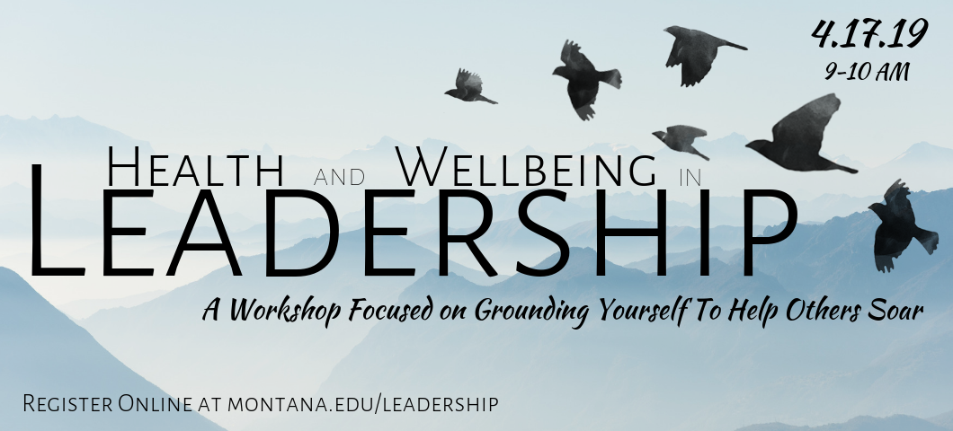 A workshop focused on grounding yourself to help others soar.