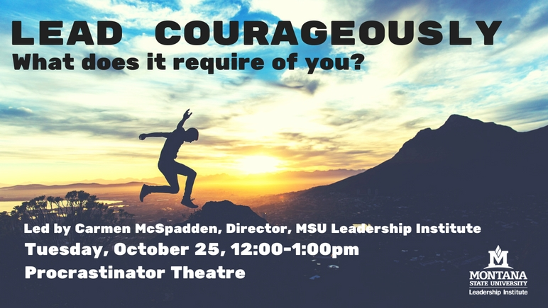 Lead Courageously Workshop