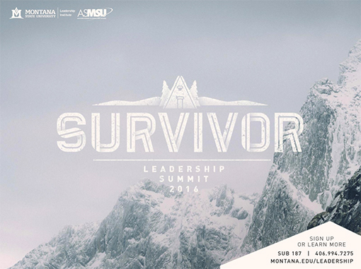 Survivor leadership sumit 2016 graphic - mountains