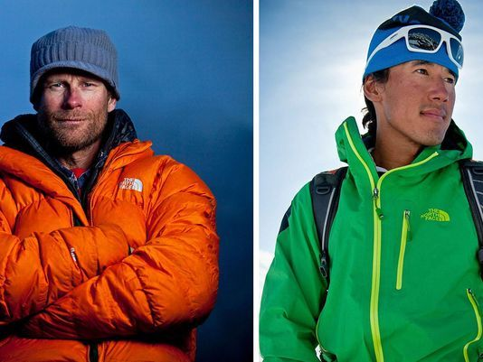 Jimmy Chin and Conrad Anker