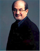 Salmon Rushdie photograph