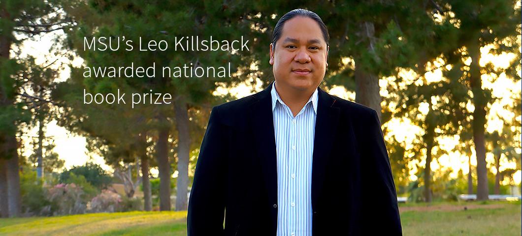 Leo Killsback's two-volume Cheyenne history wins national book prize