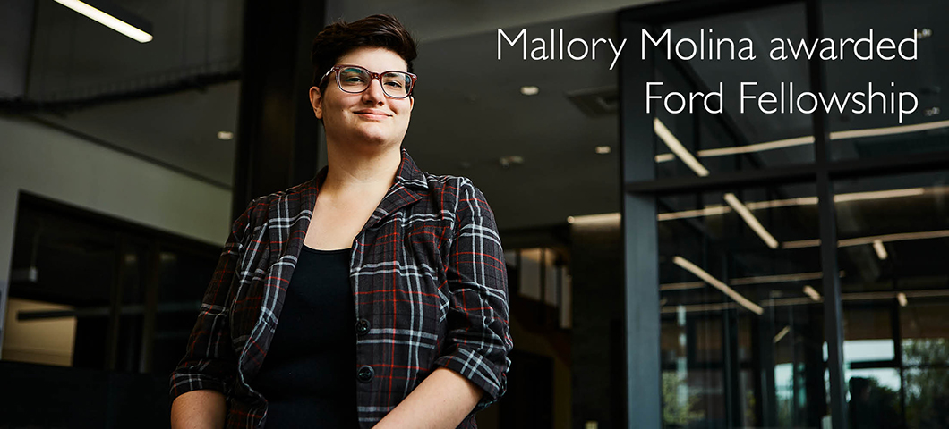 Mallory Molina awarded Ford Fellowship for astrophysics research, diversity efforts