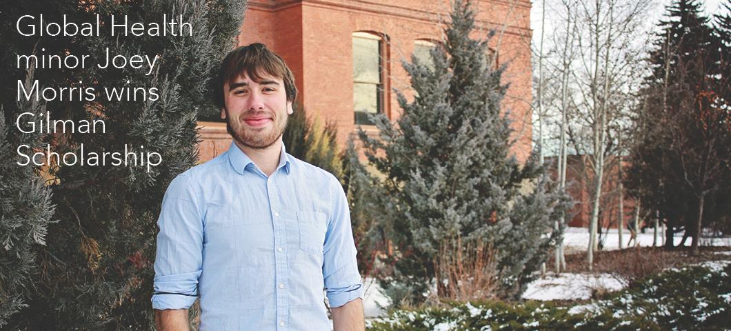 Global Health minor Joey Morris wins Gilman Scholarship