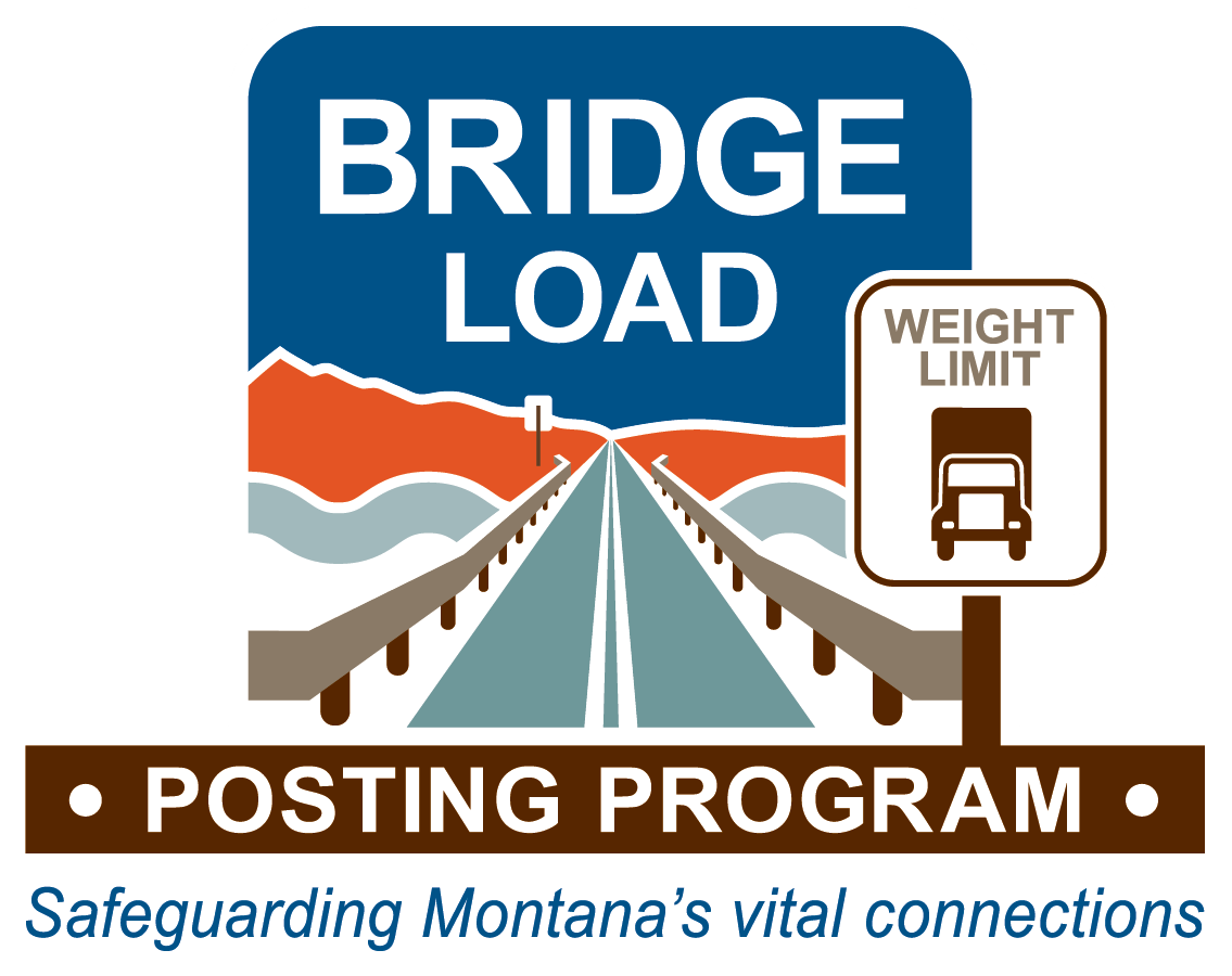 Bridge Load Program Image road with weight limit sign
