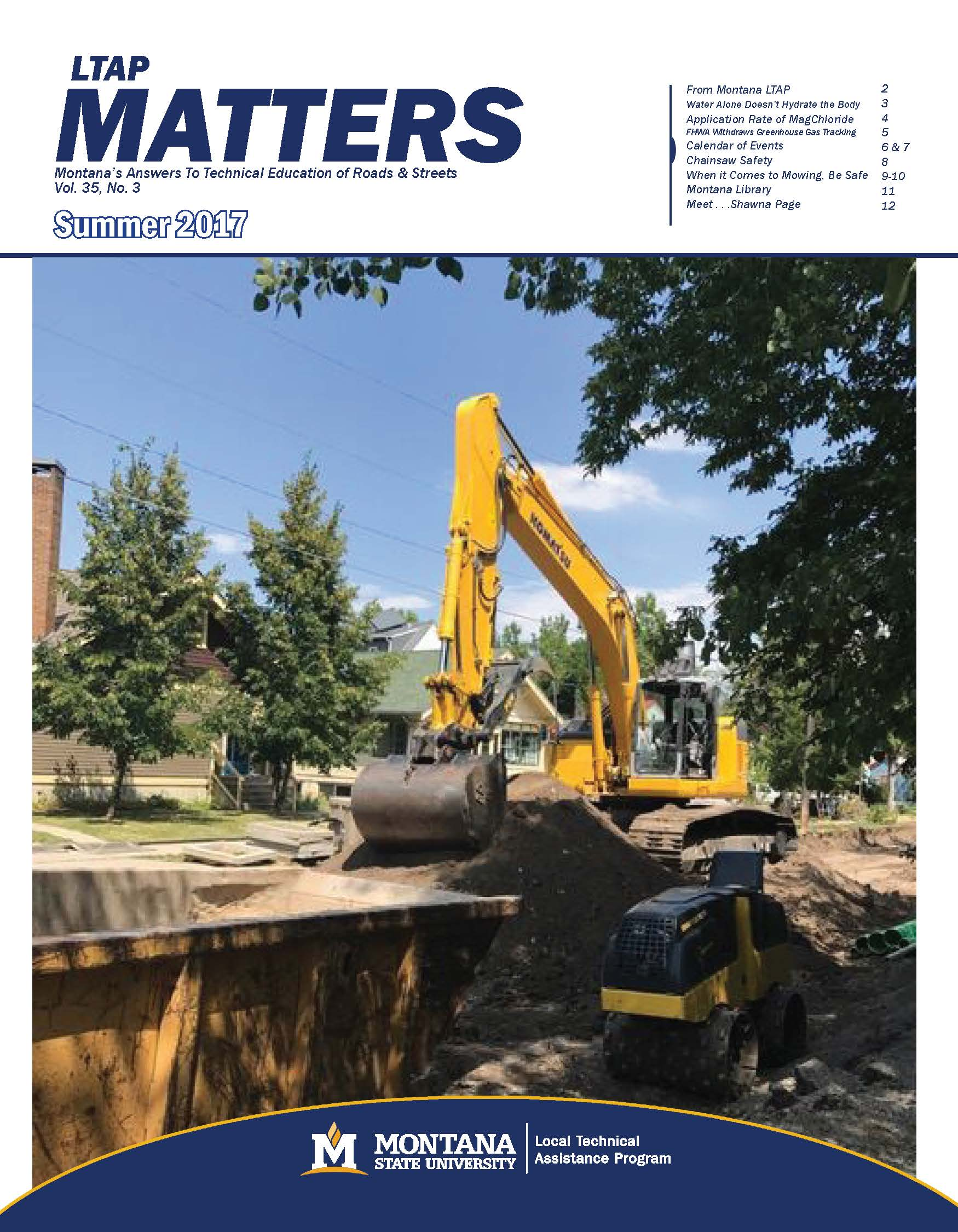 MATTERS 2017 Summer Newsletter