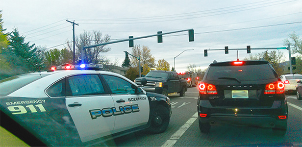 Bozeman police traffic incident