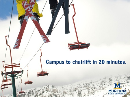 Campus to Chairlifts Wallpaper